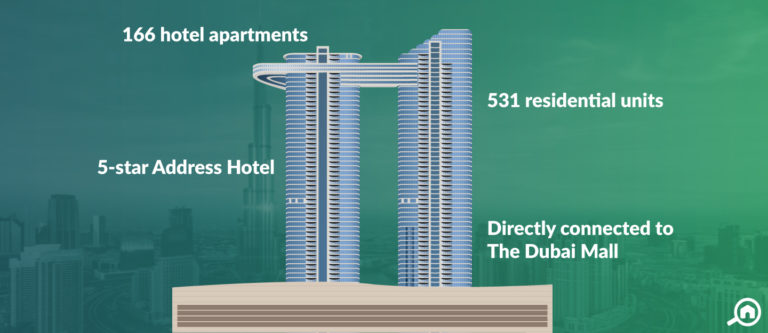 The Address Sky View Towers, Downtown Dubai