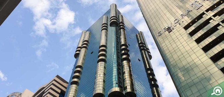 برج العطار، شارع الشيخ زايد