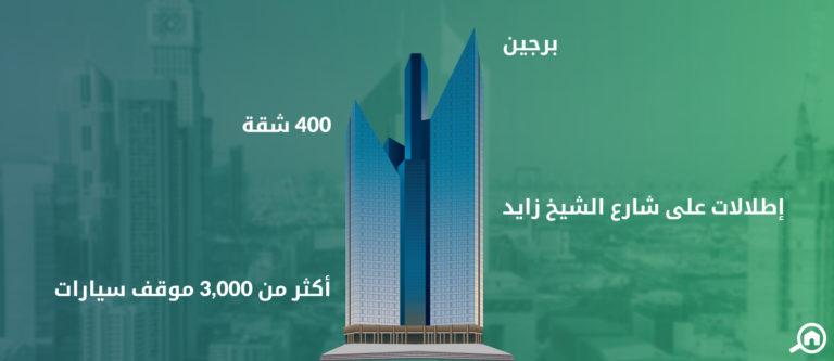 ابراج سنترال بارك، مركز دبي المالي العالمي