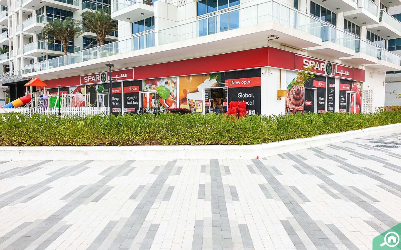 SPAR supermarket in Glitz 2