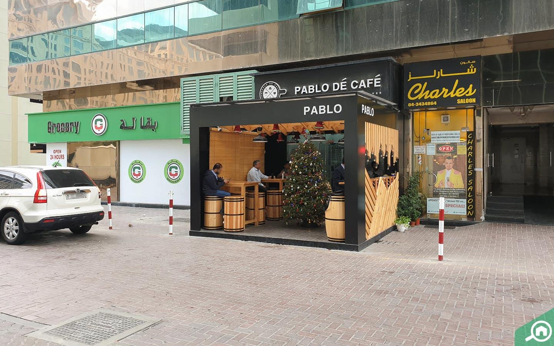 Pablo De Cafe located close to Al Attar Tower