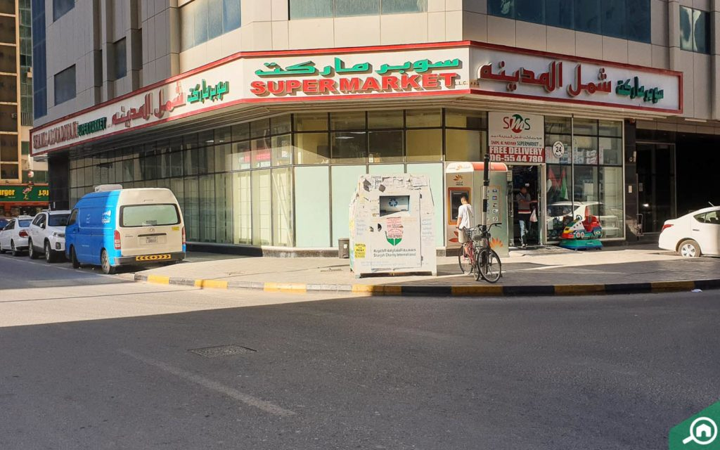 Supermarket in Gulf Pearl Tower