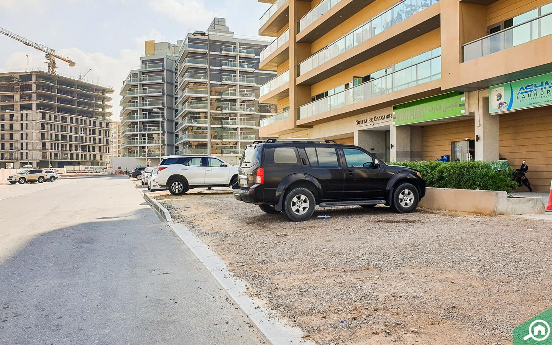 مواقف السيارات في سوليتير كاسكيدز