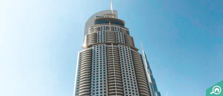فندق العنوان وسط المدينة، داون تاون دبي