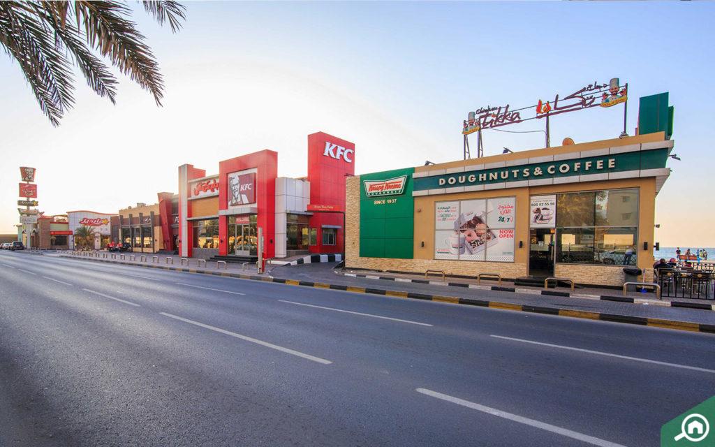 Ajman corniche restaurants