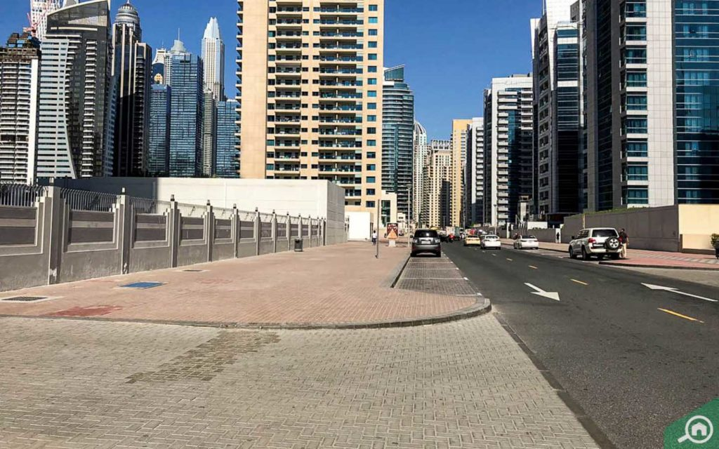 Street View, Al Marsa Tower