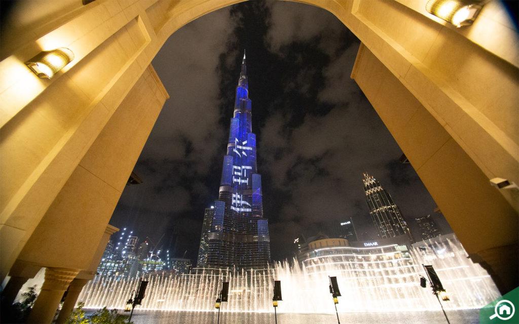 Burj Khalifa and Dubai Fountain