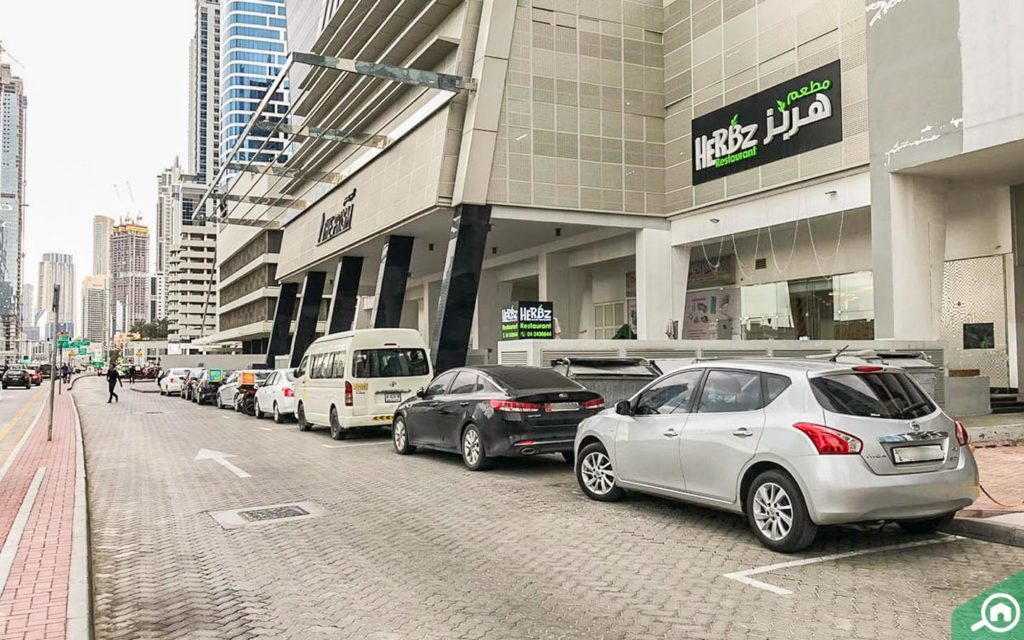 Parking in The Regal Tower, Business Bay