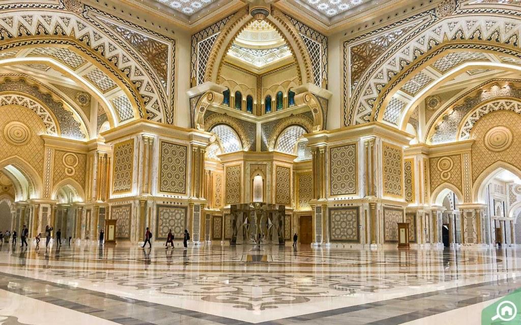 The Great Hall in Qasr Al Watan Abu Dhabi