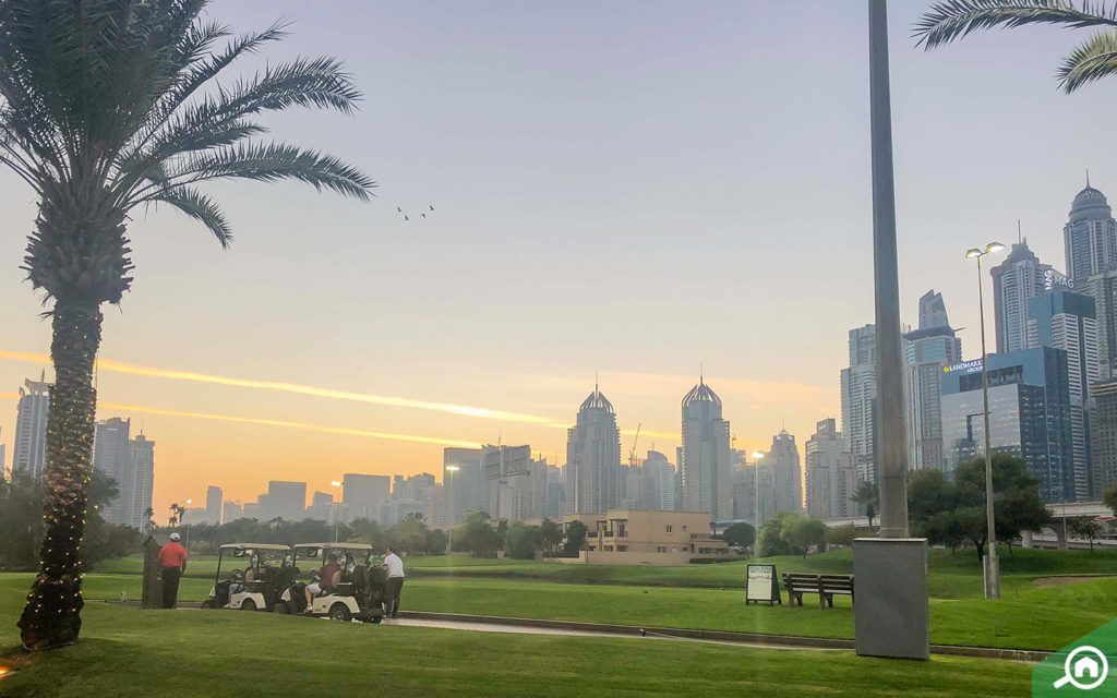 Emirates Golf Club near The Links West Tower