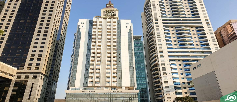 برج الصفا، شارع الشيخ زايد