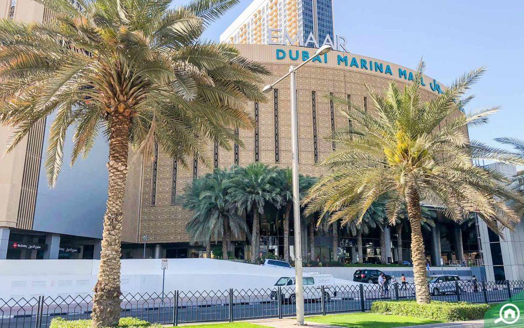 Dubai Marina Mall in Dubai Marina