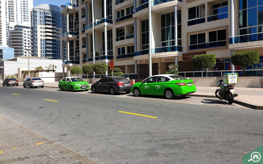 Emerald Residence car parking space