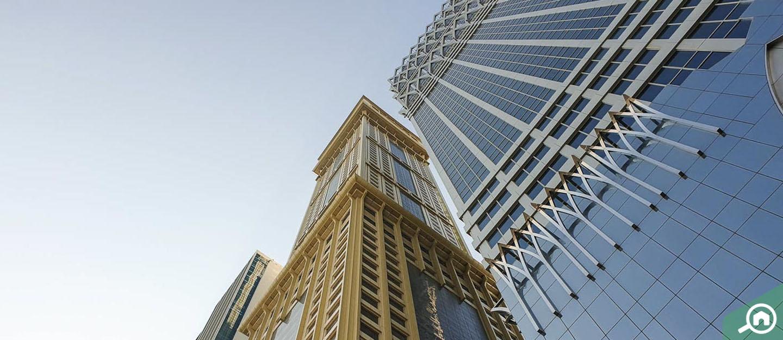 برج الجدي، شارع الشيخ زايد
