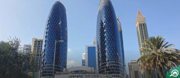 برج بارك تاور A، مركز دبي المالي العالمي