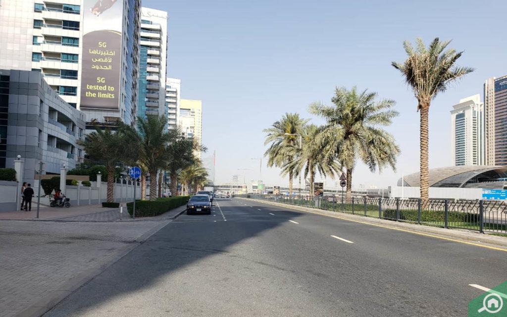 Street view of Marina Diamond 1