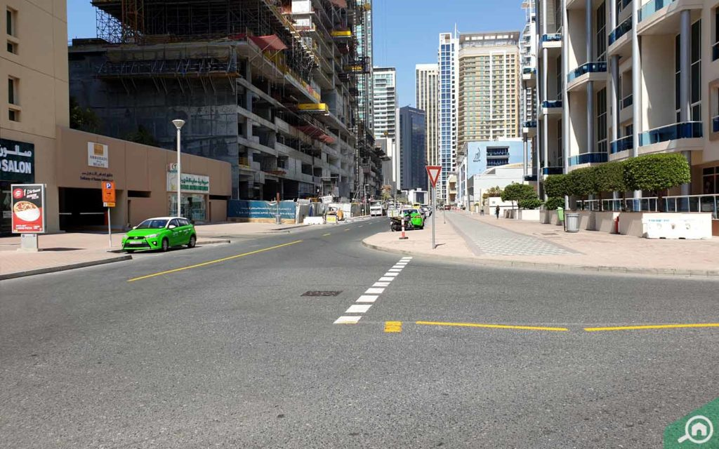 street view from Emerald Residence