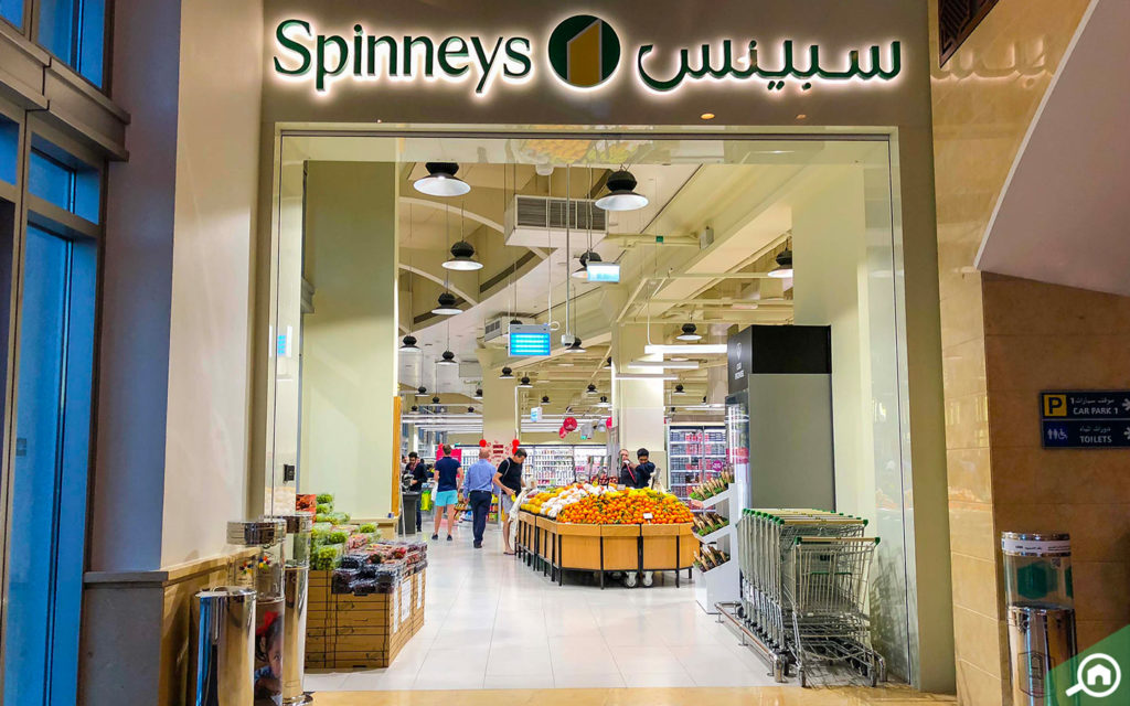 Spinneys near Al Seef Tower