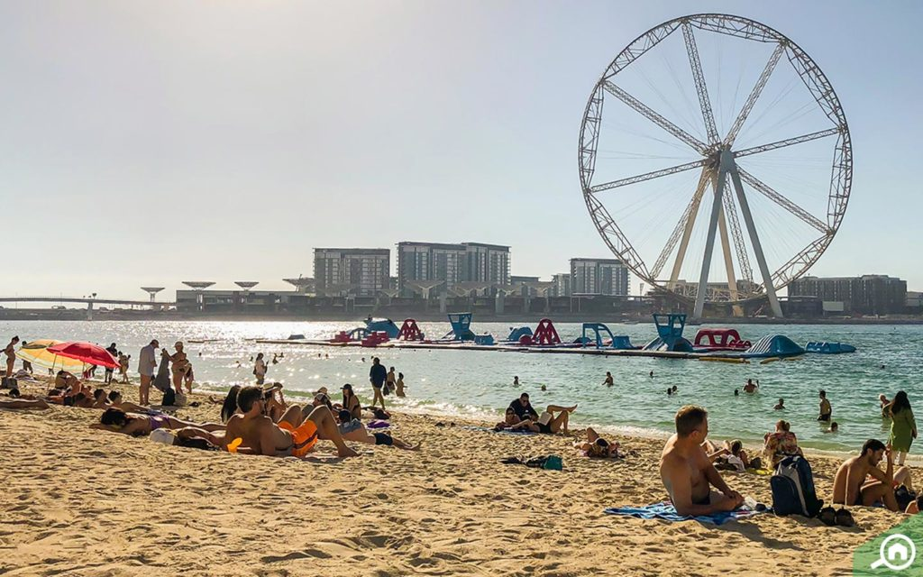 JBR Beach near al sahab tower 1