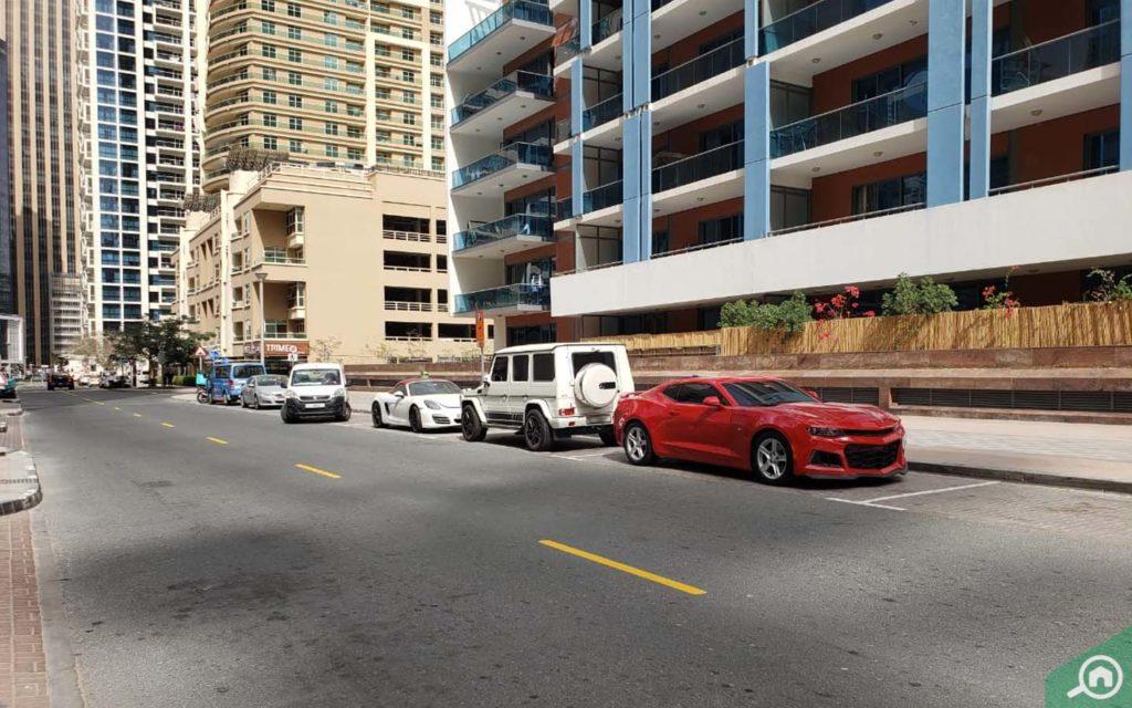 parking space in al majara 2