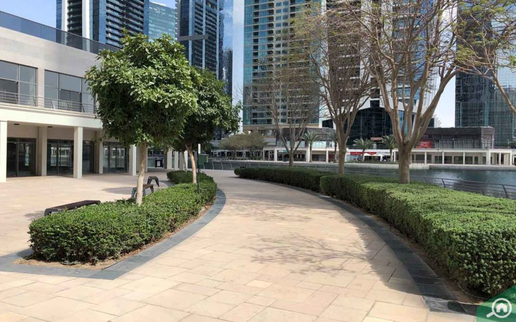 seating area cluster S JLT