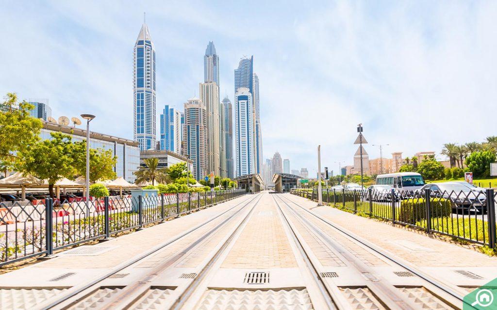 Media City Tram Station