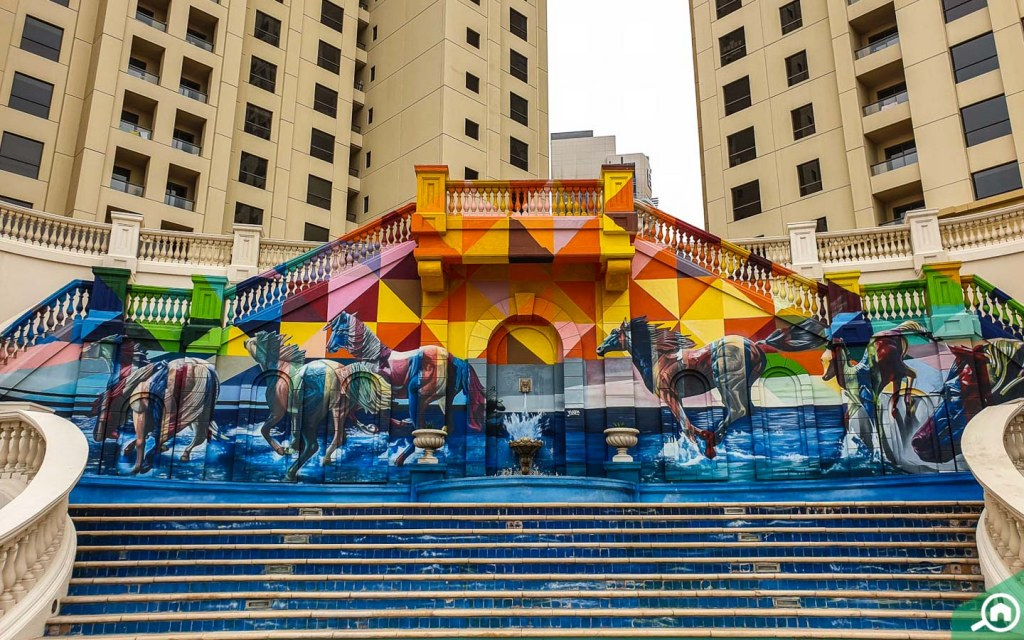murals JBR the walk