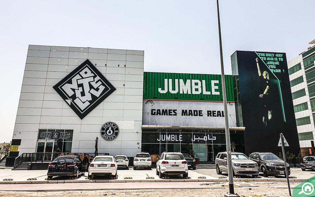 Jumble, Sheikh Zayed Road