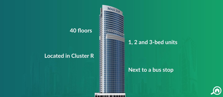Mag 214 Tower, JLT