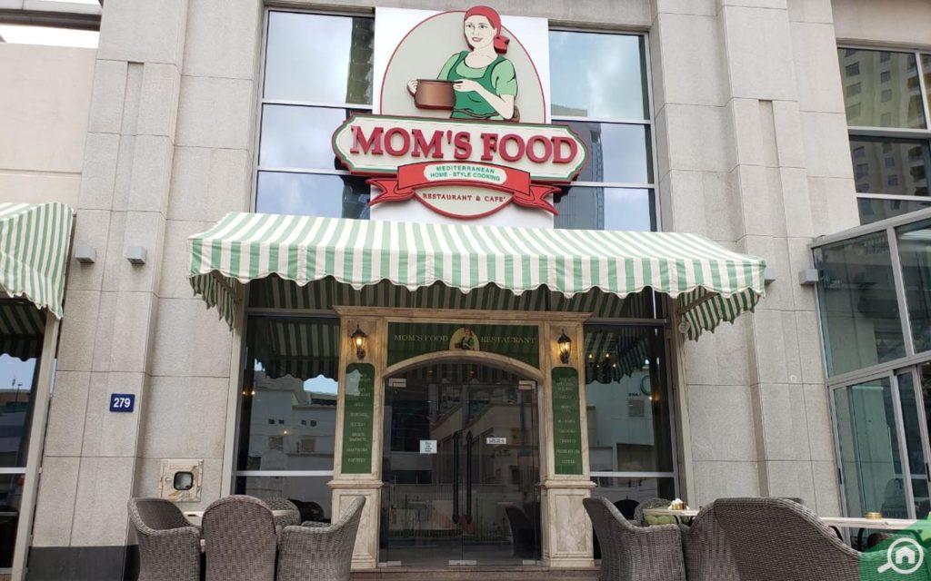 Mom's Food, casual dining restaurant in Dubai Marina