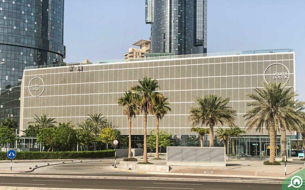 Shams Boutik Mall front view