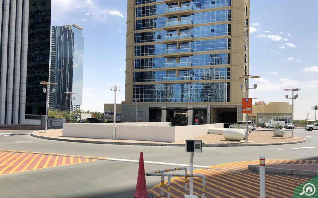 Street view outside New Dubai Gate 1
