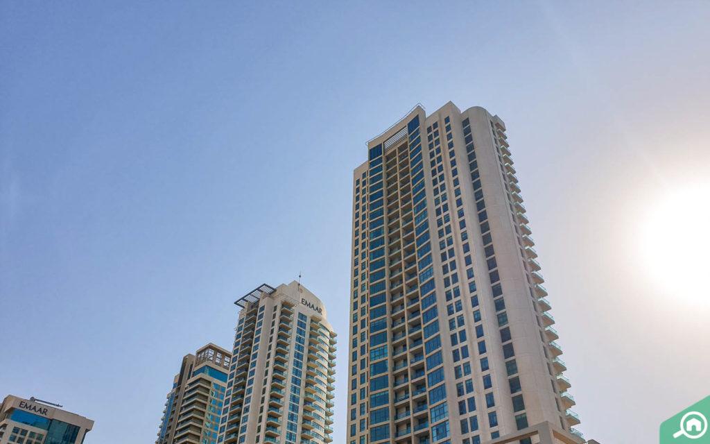 ذا لينكس البرج الغربي ذا فيوز دبي