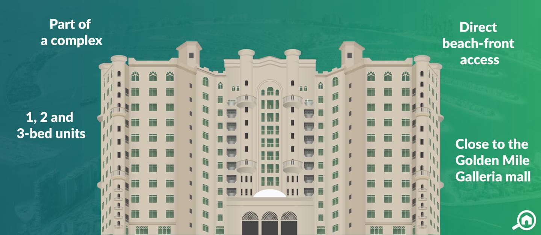 Al Khudrawi Shoreline Apartments, Palm Jumeirah