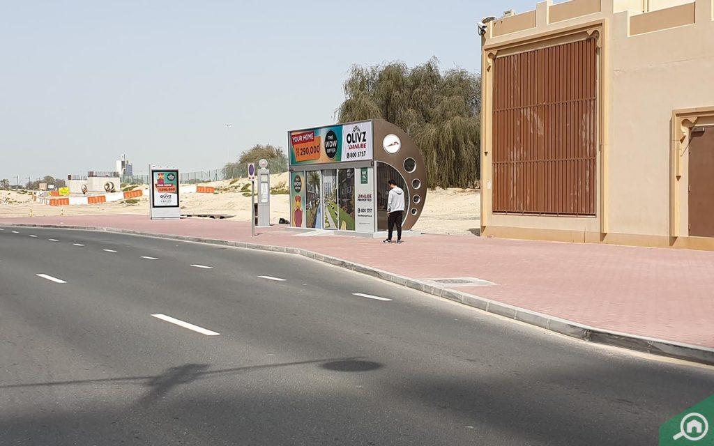 Bus Station near Sahara Towers