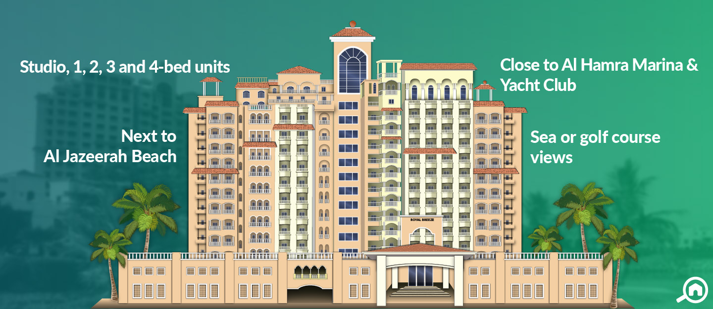 Royal Breeze Apartment, Al Hamra Village