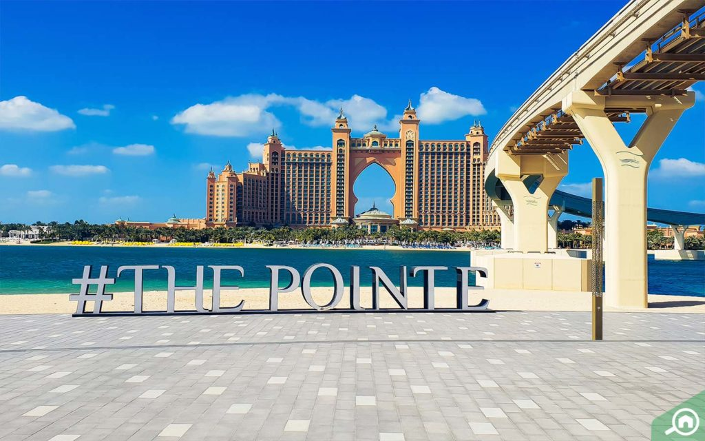 The Pointe By Nakheel front view