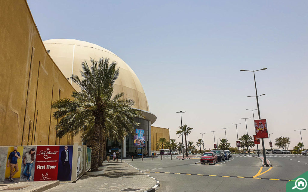 Dubai Outlet Mall, located near The Gate Residence 1