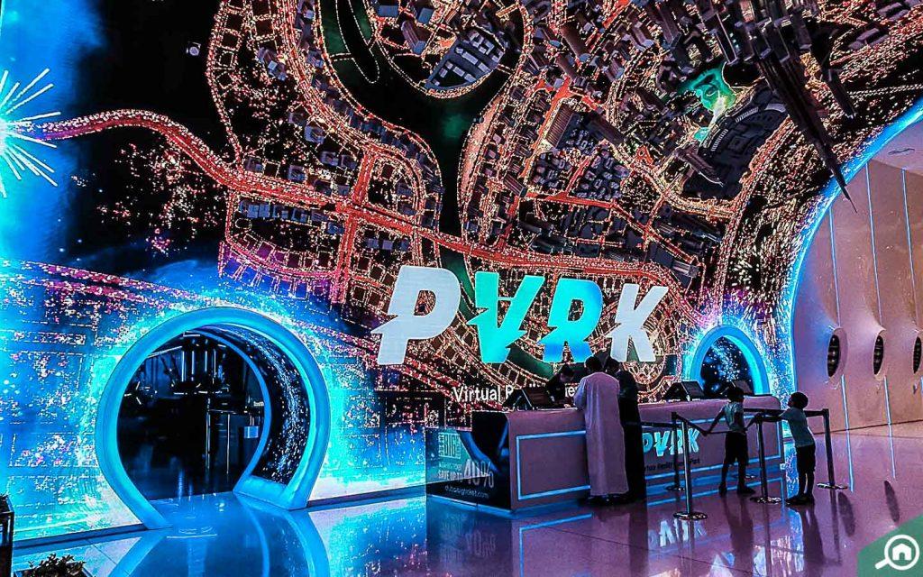 Entrance of VR Park, Dubai Mall