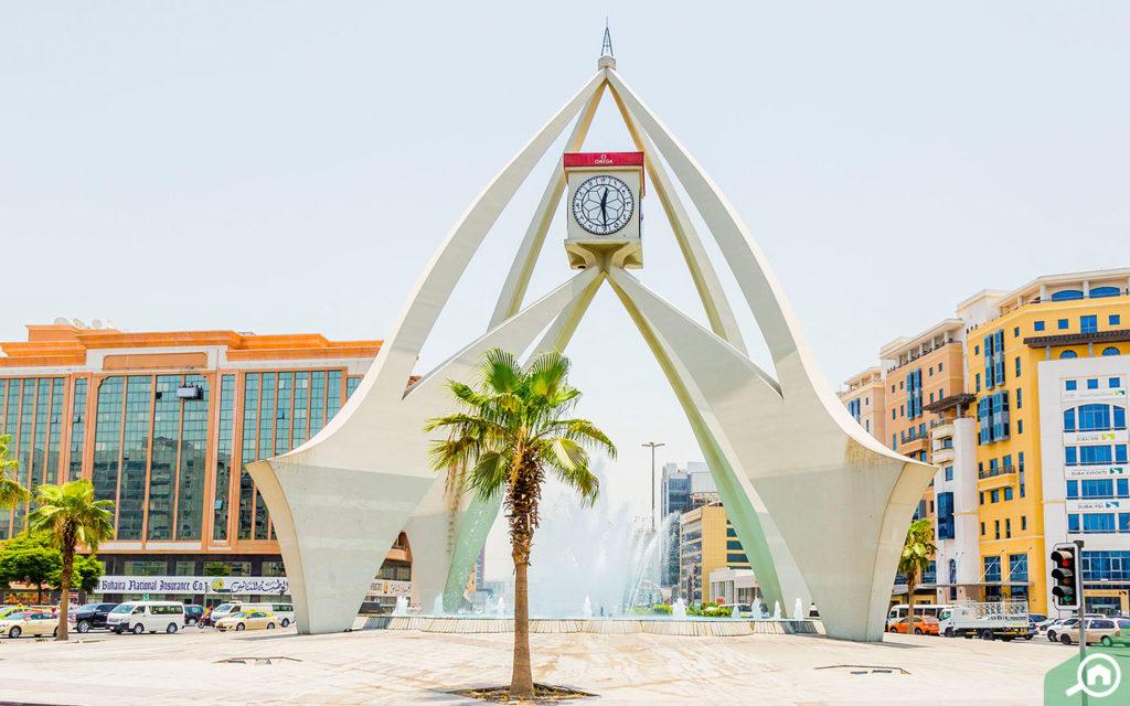 Deira clocktower front image
