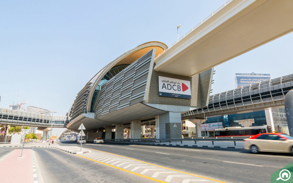 Metro Station near Al Wasl Tower