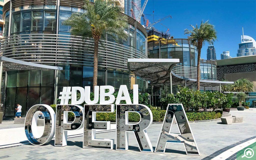 Dubai Opera Exterior