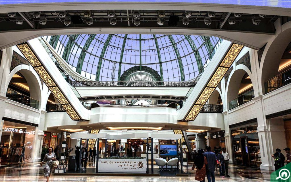 Emirates Mall interior