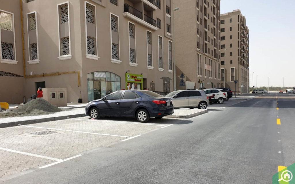 Parking in Al Shaiba Building G25