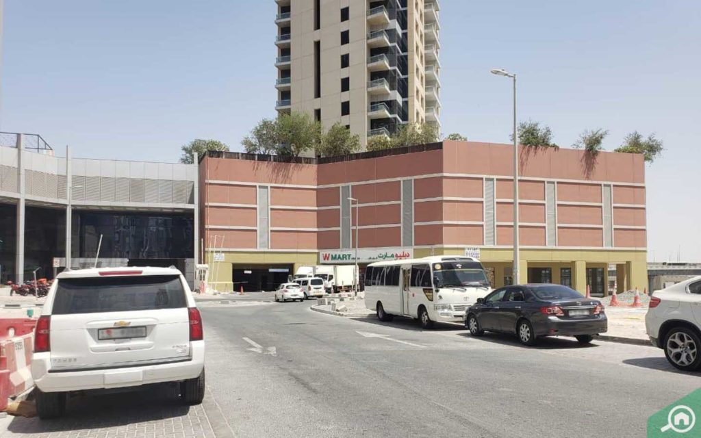 wmart ground level al shafar tower dubai business bay