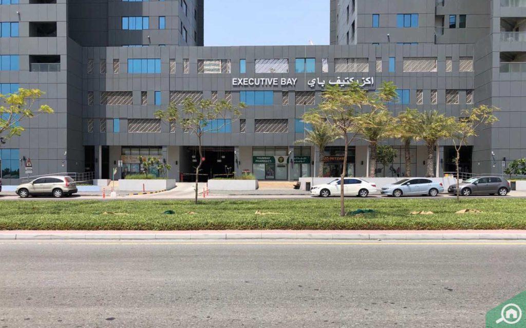 executive bay entrance