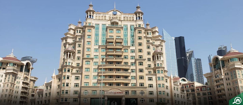فندق روضة المروج، داون تاون دبي