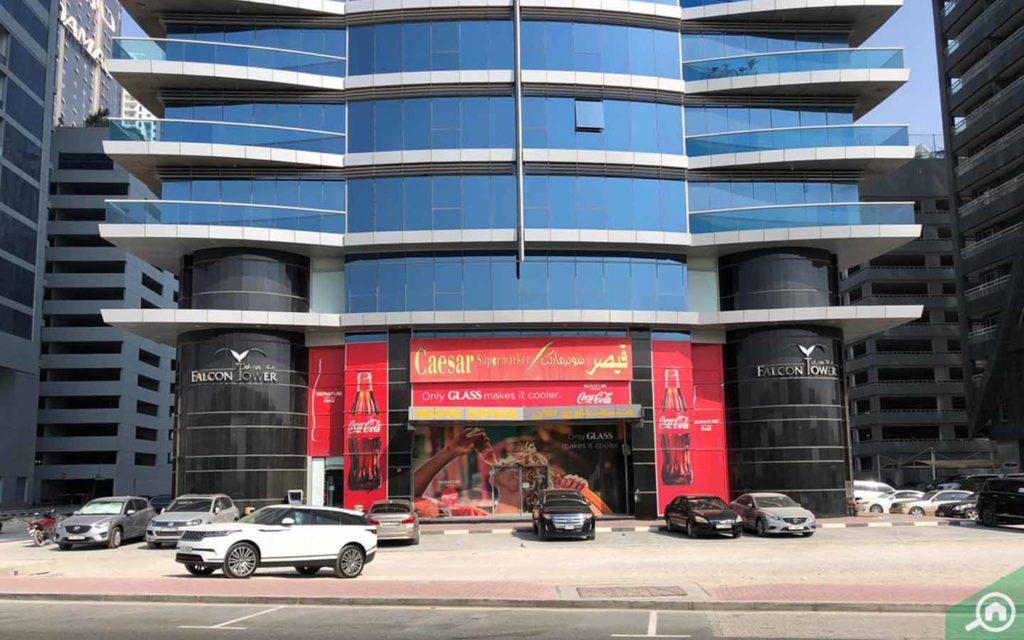 caesars supermarket falcon tower business bay