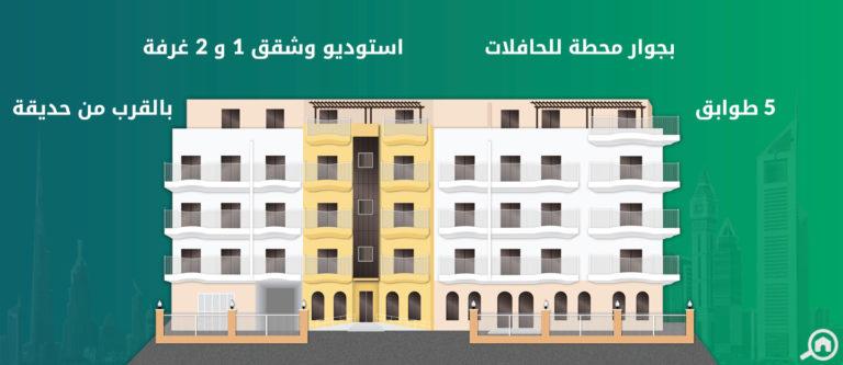 مساكن لولينا، قرية جميرا الدائرية