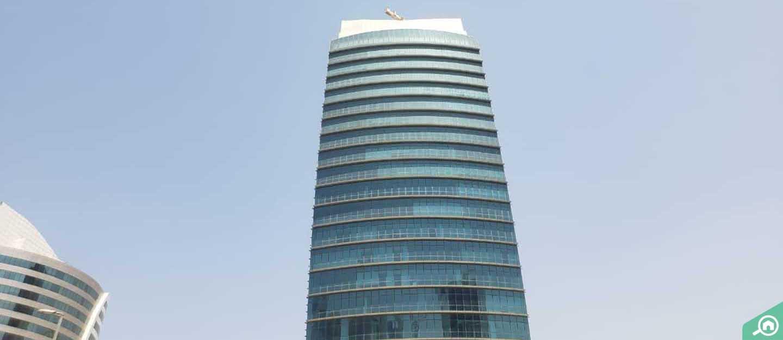 برج بي تو بي، الخليج التجاري